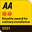 AA Culinary Excellence Award 2021